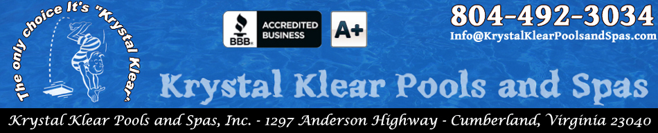 Krystal Klear Pools and Spas, Inc.